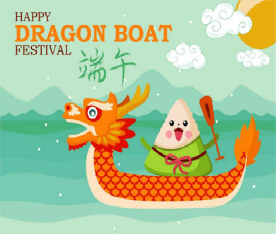 Holiday for Dragon Boat Festival  !!